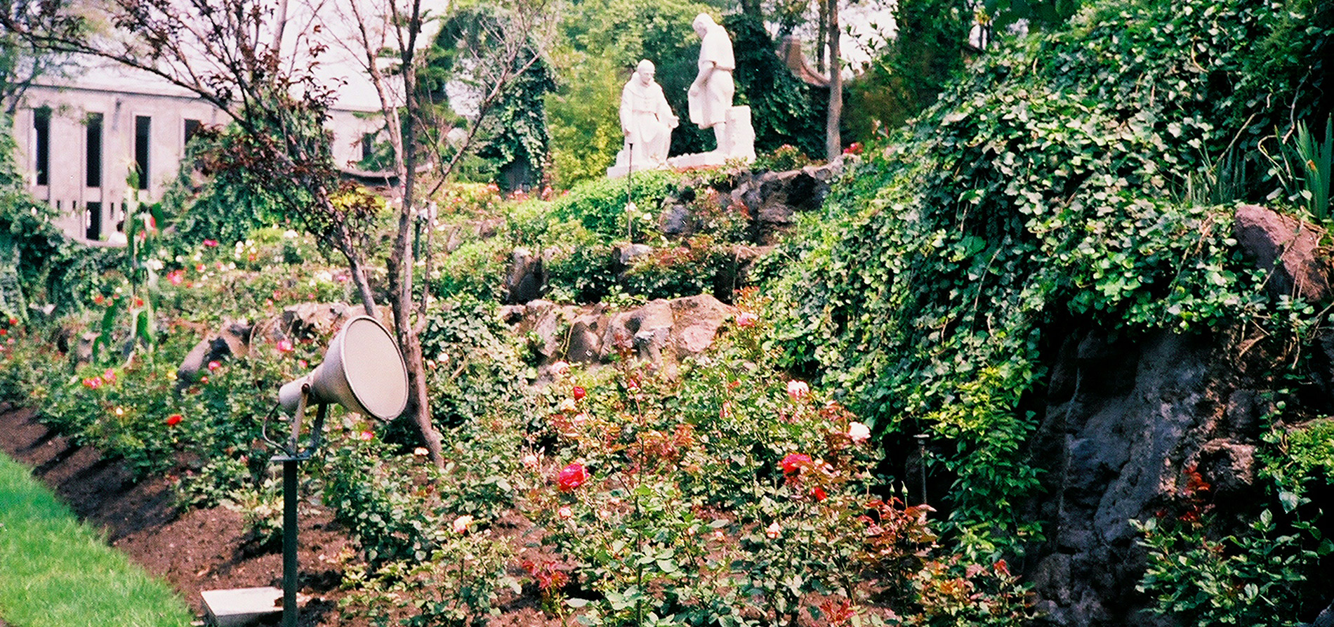 Basilica of Our Lady of Guadalupe World Peace Rose Garden