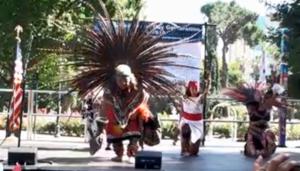 Azteca Dancers Perform State Capitol