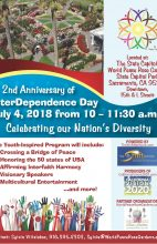 7/4/2018 – Interdependence Day