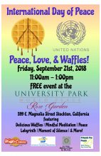 9/21/2018 – UN International Day of Peace