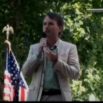 Steven Dinan, Speaks State Capitol 4th of July