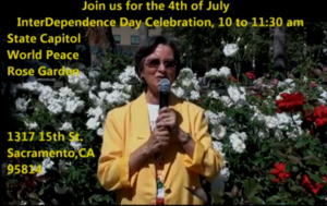 Sylvia Villalobos 4th of July Celebration Invite