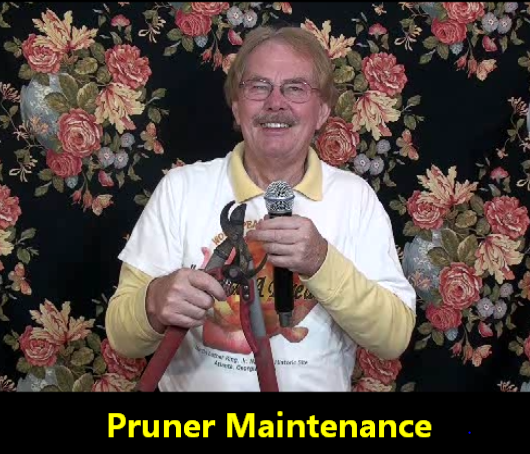 Rose Pruner Maintenance Tips