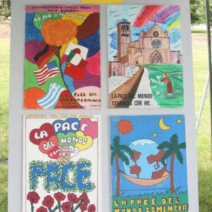 Children's art about peace