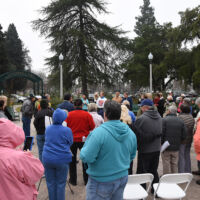 People gathered for an event of Pruning